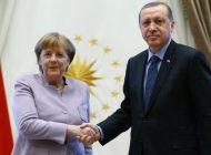 Erdoğan ve Merkel görüşmesinde terörle mücadelede işbirliği vurgusu