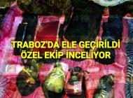 Trabzon'da Ele Geçirildi Özel Ekipler İnceliyor.