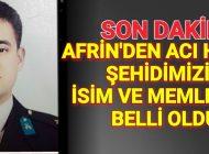 Son Dakika Afrin'den Acı Haber