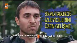 Sen Anlat Karadeniz Dizi'sinin Yeni Bölümünde Tahir Vuruluyor