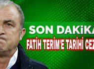 Son Dakika Galatasaray'a Şok Fatih Terim'e tarihi ceza.