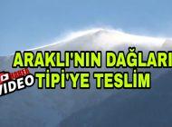 Trabzon Araklı'nın Dağları Tipi'ye Teslim Oldu.