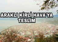 Trabzon'un Sahil İlçelerinde Kirli Hava Etkili Oluyor