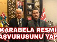MHP Araklı Belediye Başkan Aday Adayı Resmi Başvuru Yaptı
