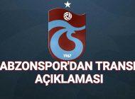 Trabzonspor'dan Açıklama Transfer Yasağı nezaman bitiyor.