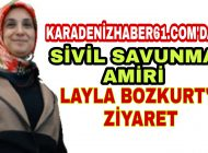 Trabzon Araklı Devlet Hastanesi Sivil Savunma Amiri Dr. Bozkurt'u Ziyaret Ettik
