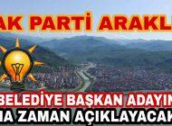 AK Parti Araklı Belediye Başkan Adayını Nezaman Açıklayacak? Karadenizhaber61'de