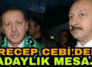 AK Parti'nin Yeniden Belediye Başkan Adayı Olan Çebi'den Adaylık Mesajı.