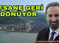 Efsane Başkan Geri Dönüyor Araklı'da Hasret Sona eriyor.