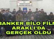 Banker Bilo Filmi Trabzon Araklı'da gerçek oldu