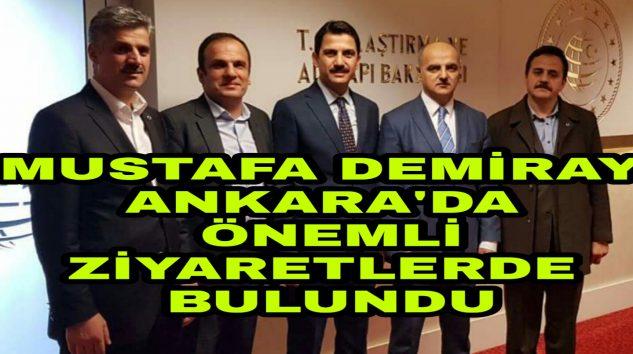 Araklı'nın En başarılı Muhtarından Ankara Çıkarması