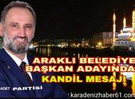 Ümit İsmailçebioğlu'ndan Regaib Kandili Mesajı.