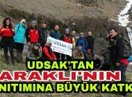 UDSAK'Tan Araklı'nın Tanıtımına Büyük Katkı