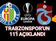 Trabzonspor Şu Kadroyla Sahaya Çıkacak