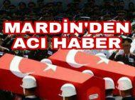 Mardin'den Acı Haber Şehit ve Yaralı Askerlerimiz Var.