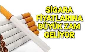 Cumhurbaşkanı Erdogan Sigara Fiyatları Artacak.