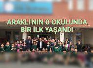 Trabzon'un Araklı İlçesinde bir ilk