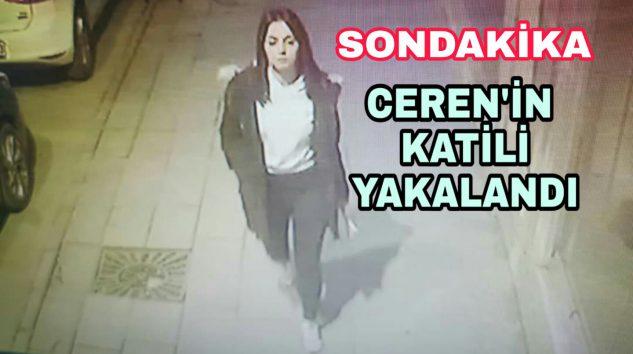 Ceren'in Katili gözaltına alınırken Polisi'de Bıçakladı