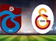 Trabzonspor Galatasaray ilk 11'leri belli oldu