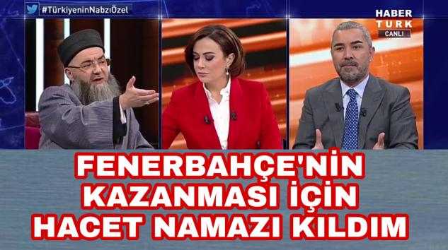 Cübbeli Ahmet Hoca Aziz Yıldırım'dan korkarak Namaz kıldırmış