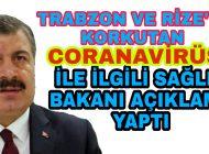 Rize'den CORANAVİRÜS Diye Trabzon'a gönderilmişti