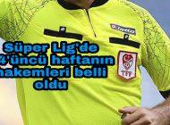 Trabzonspor Rizespor Maçının Hakemi açıklandı