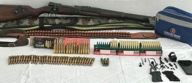 Trabzon'da İnternet üzerinden Silah Satmaya Çalışırken yakalandı