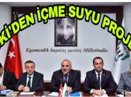 TİSKİ'den Trabzon'un İlçe Mahallelerine içmesuyu Projesi