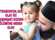 Trabzon'da Acı Olay Geri Manevra yaparken Kızını ezdi