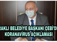 Başkan Çebi'den Koranavirus ile ilgili Açıklama