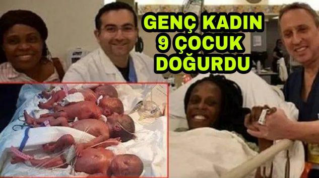 Dünyada ilk defa 9 yaşandı Çocuk doğurdu