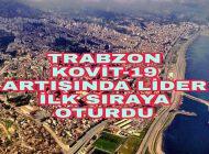 Trabzon KOVİT-19 Artışında İlk sırada