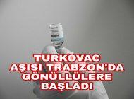 Trabzon'da İlk Gönüllü Aşı Olan Ayvazoğlu oldu
